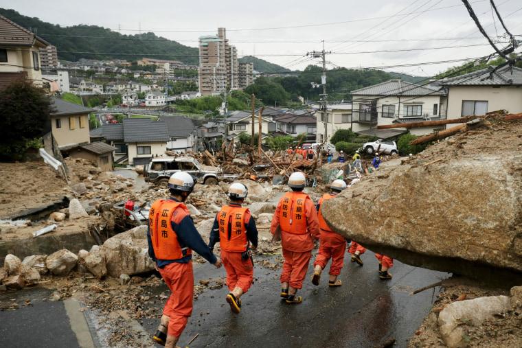 Image: Western Japan Heavy Rains And Floods