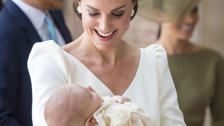 Kate, Duchess of Cambridge, Prince Louis, christening