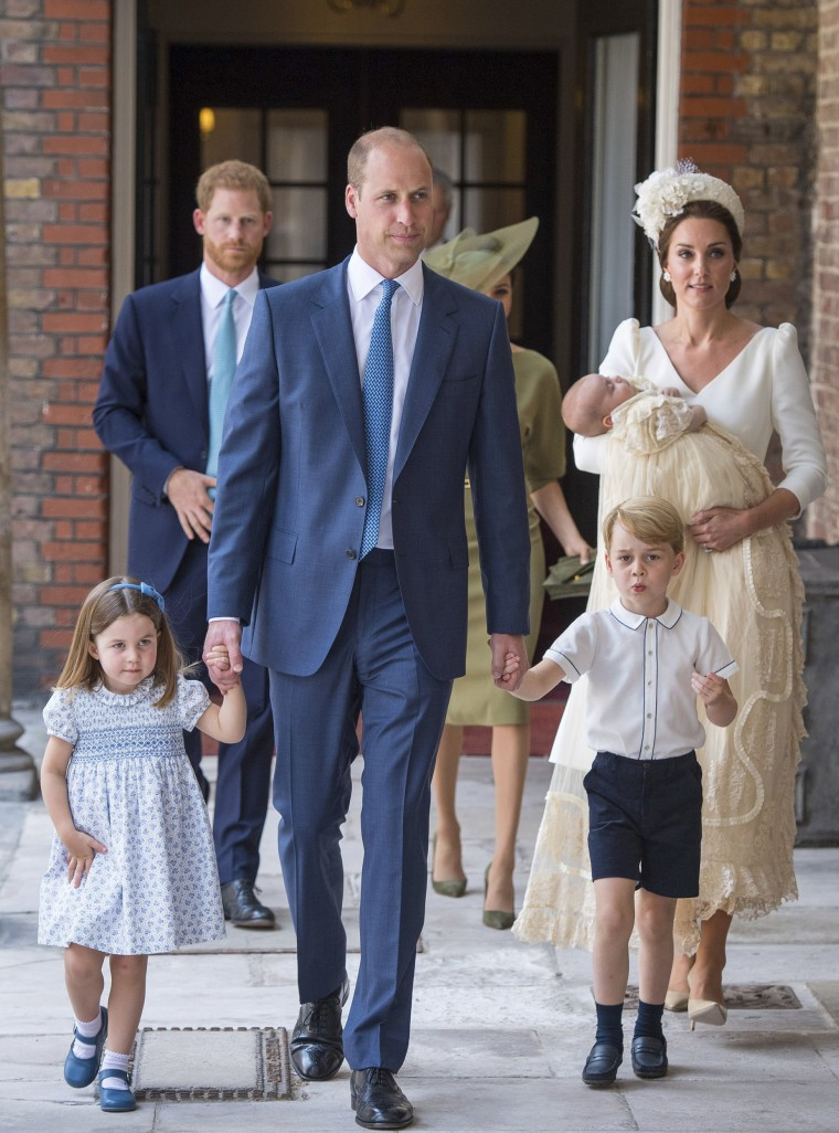 Kate Duchess of Cambridge, Prince George, christening