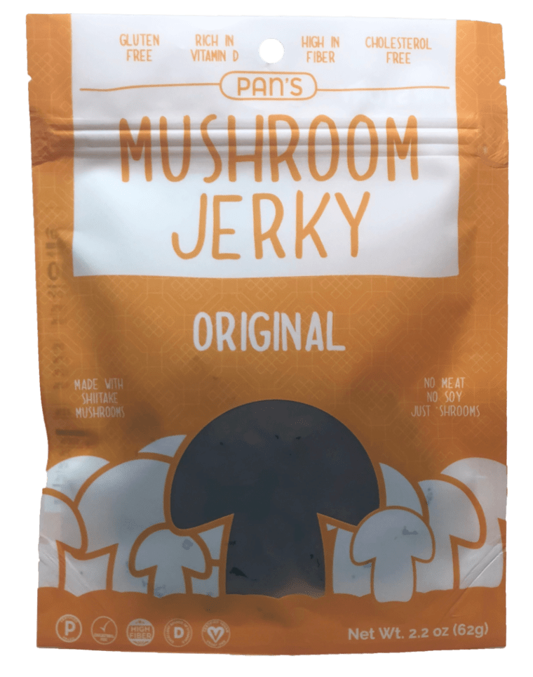 Pan's Mushroom Jerky