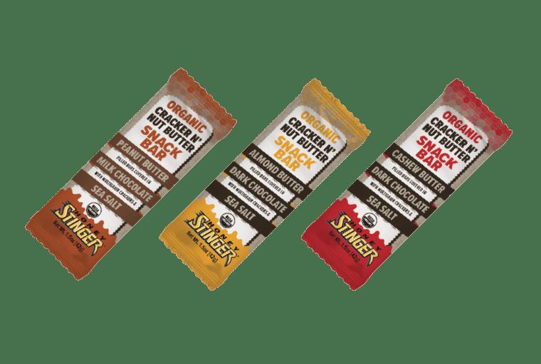 Honey Stinger Organic Almond Butter and Dark Chocolate Cracker N' Nut Butter Snack Bar