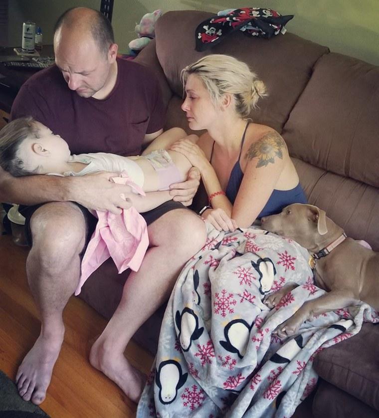 Daggett Family, Cancer, Parenting