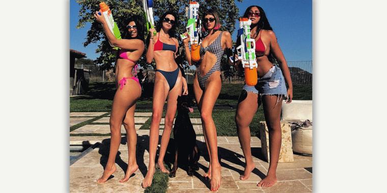 Kourtney Kardashian, Barbie Feet