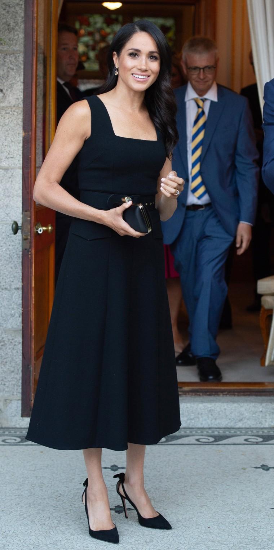 Former Meghan Markle at British ambassador's residence in Ireland