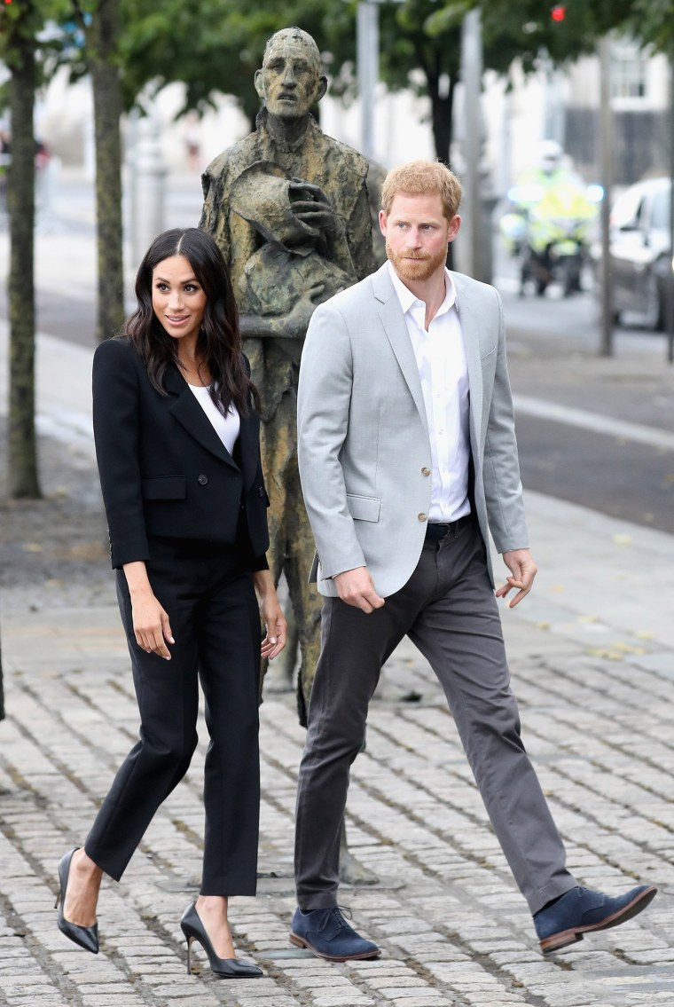 Prince Harry and former Meghan Markle in Ireland
