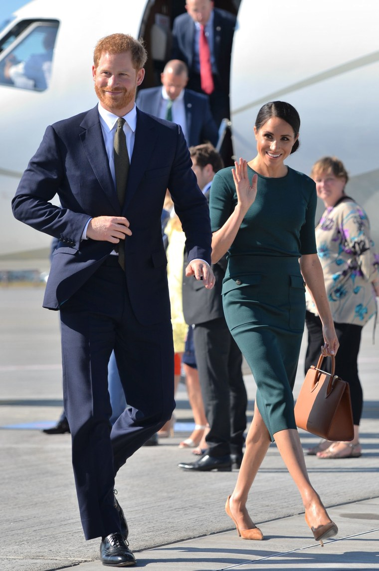 Prince Harry and former Meghan Markle visit Ireland