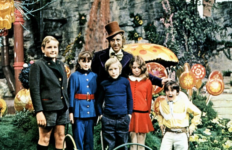 Cast of Willy Wonka & The Chocolate Factory