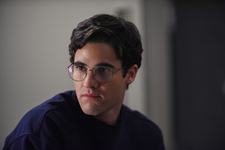 "Darren Criss as Andrew Cunanan on ""The Assassination of Gianni Versace: American Crime Story"""