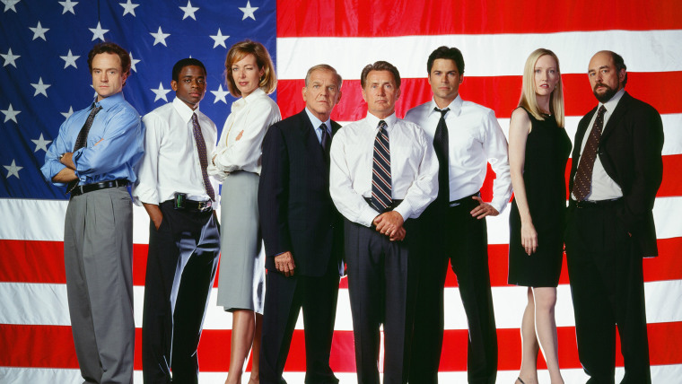 """The West Wing"" cast"