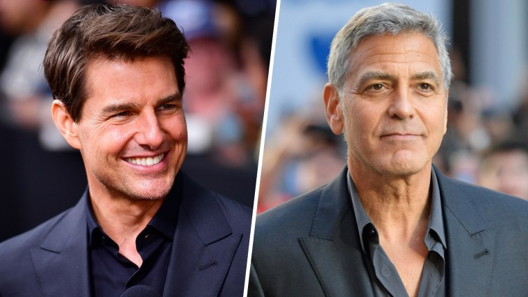 Tom Cruise and George Clooney
