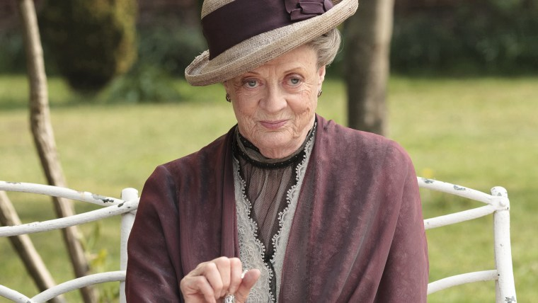 Maggie Smith as the Dowager Countess Grantham
