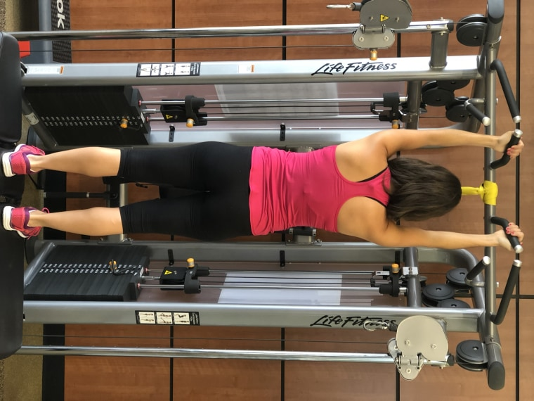 Pull-up starting position