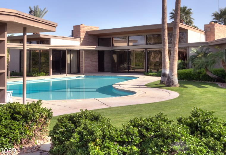 You Can Have Your Next Party At Frank Sinatra's Palm Springs Estate