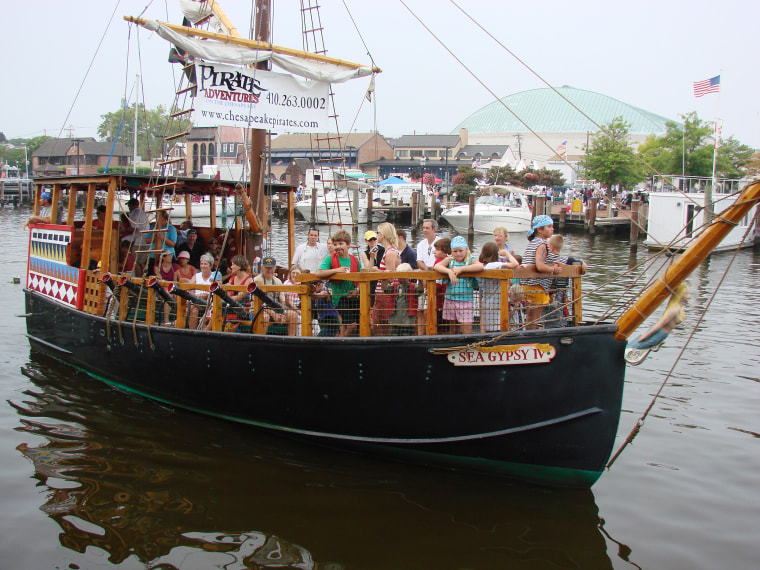 Pirate Adventures, Annapolis, Maryland
