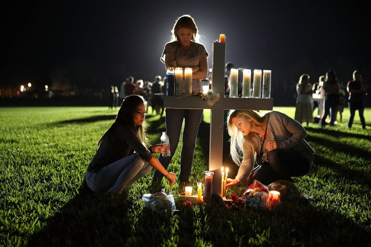 Image: Florida Town Of Parkland In Mourning, After Shooting At Marjory Stoneman Douglas High School Kills 17