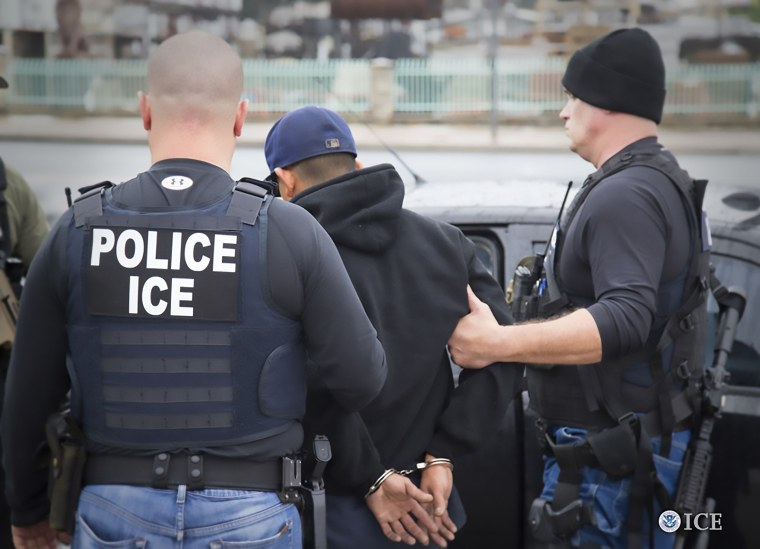 Image: Immigration ICE Raids, Los Angeles Arrest