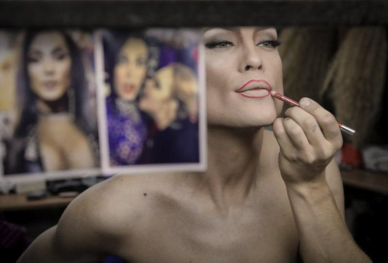 Image: Russian drag stars