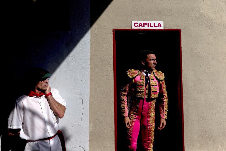 Image: Fiesta de San Fermin in Pamplona