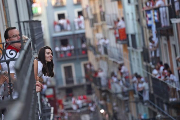 Image: San Fermin festival in Pamplona