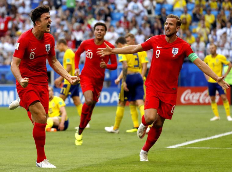 Image: Quarter Final Sweden vs England