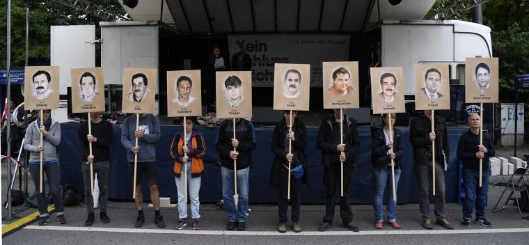 Image: NSU Neo-Nazi Murder Trial