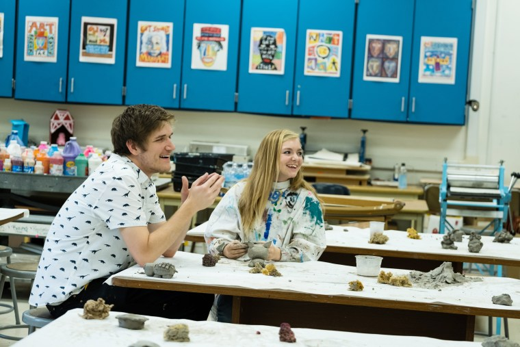 """Image: Elsie Fisher as Kayla Day in a scene from """"Eighth Grade"""""""