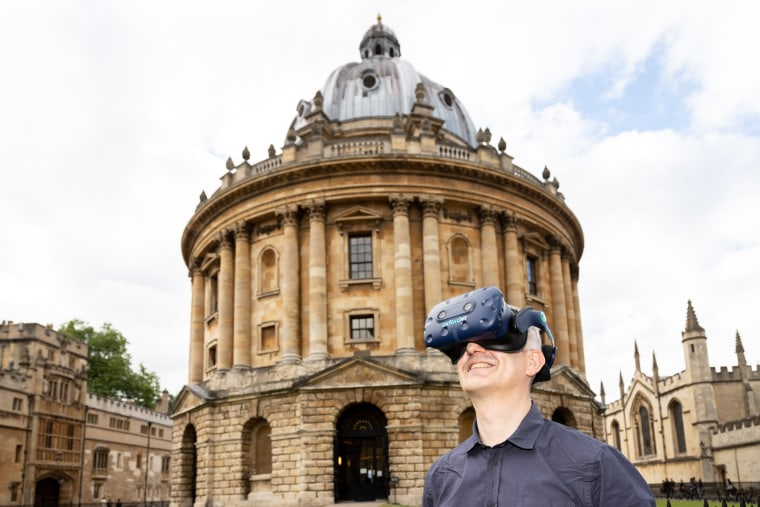 Image: virtual reality at Oxford