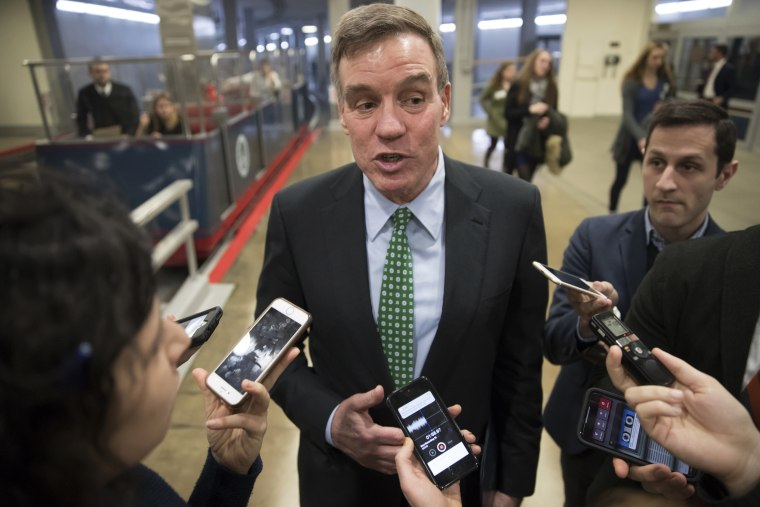 Image: Senate Intelligence Committee Vice Chairman Mark Warner