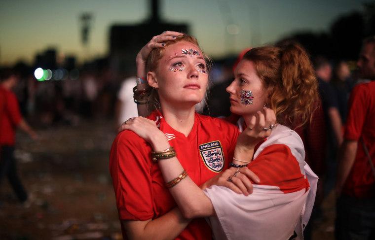 Image: England fans