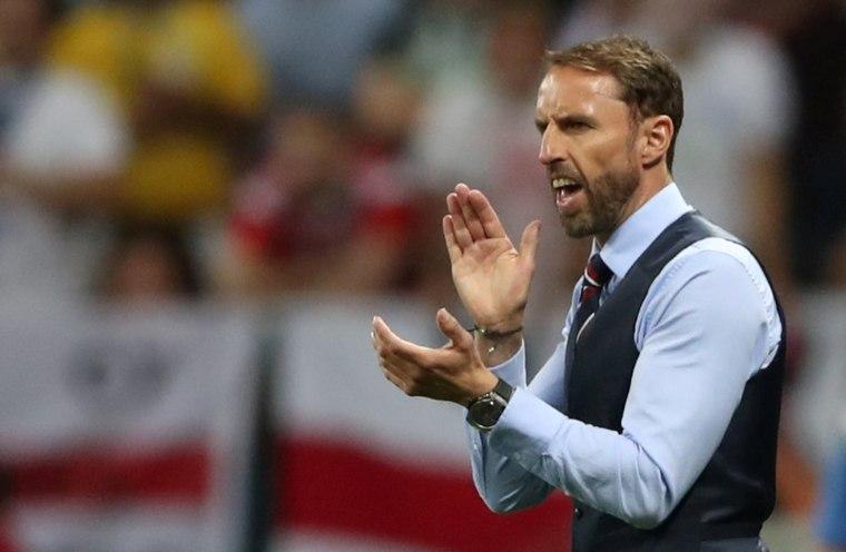 Image: England manager Gareth Southgate