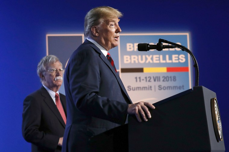 Image: Donald Trump, John Bolton