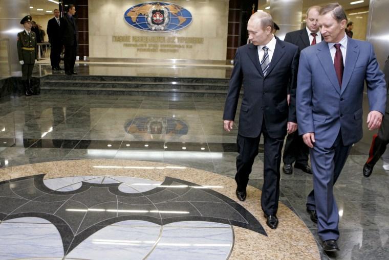 Image: Vladimir Putin at GRU