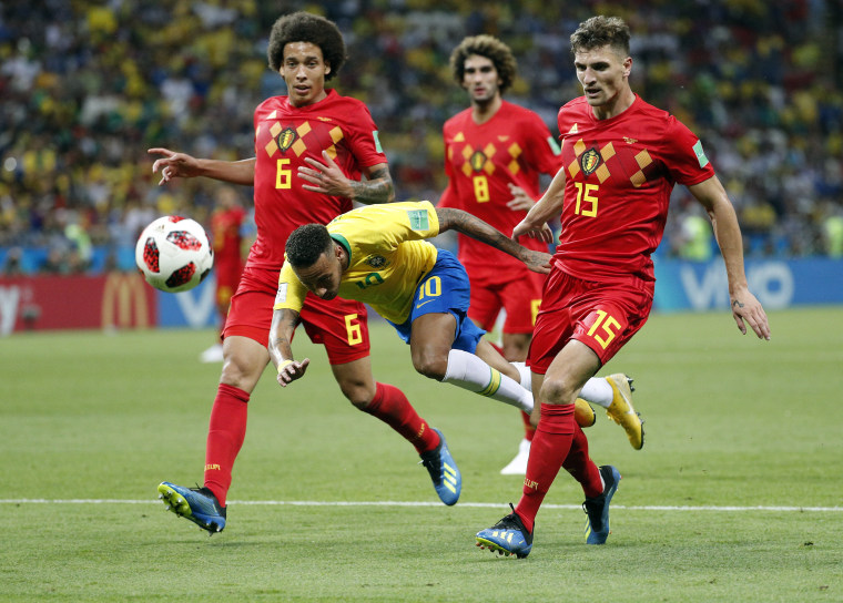 Image: Quarter Final Brazil vs Belgium