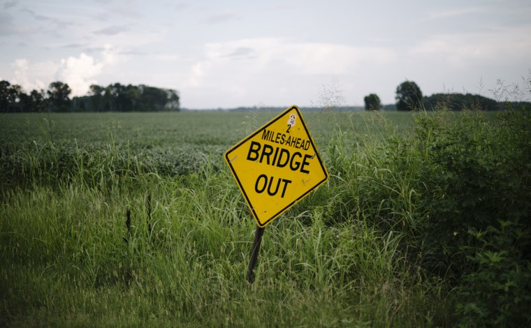 In Mississippi, closed bridges and crumbling infrastructure
