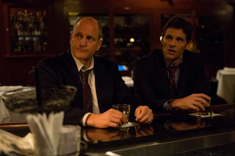 "Woody Harrelson and James Marsden in ""Shock and Awe."""