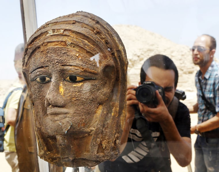 Image: Mummy mask