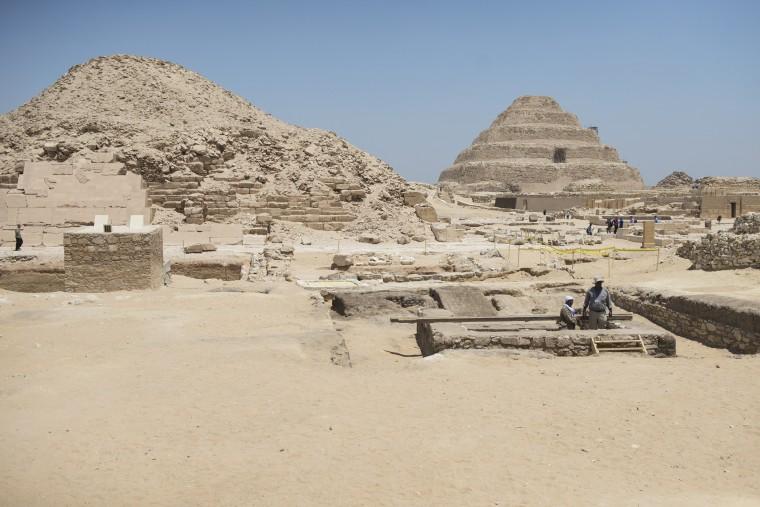 Image: Necropolis of Saqqara