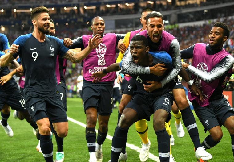 Image: France v Croatia - 2018 FIFA World Cup Russia Final