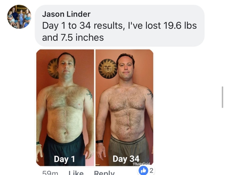 80-day obsession participant