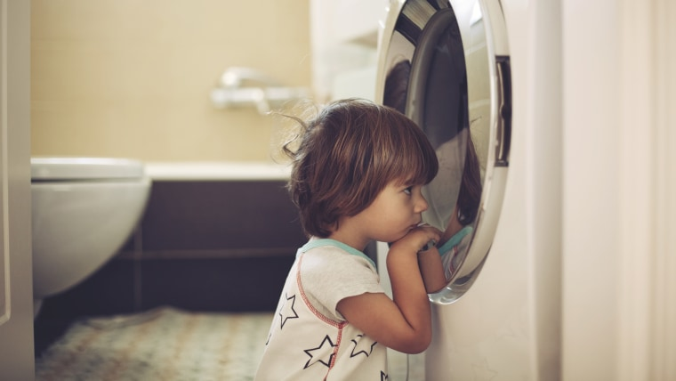 To protect your children from washer and dryer entrapment, experts suggest engaging any appliance safety features, locking the door to the room where you keep appliances and purchasing a safety lock as well as talking to your kids about the dangers, among other measures.