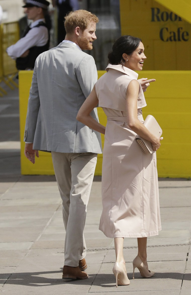 Britain's Prince Harry, Meghan the Duchess of Sussex