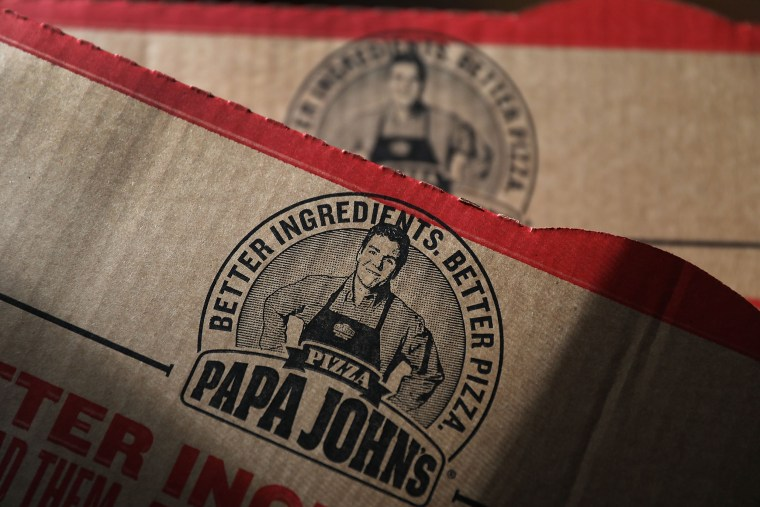 Image: Papa John's CEO John Schnatter Apologizes After Using Racial Slur On Company Conference Call