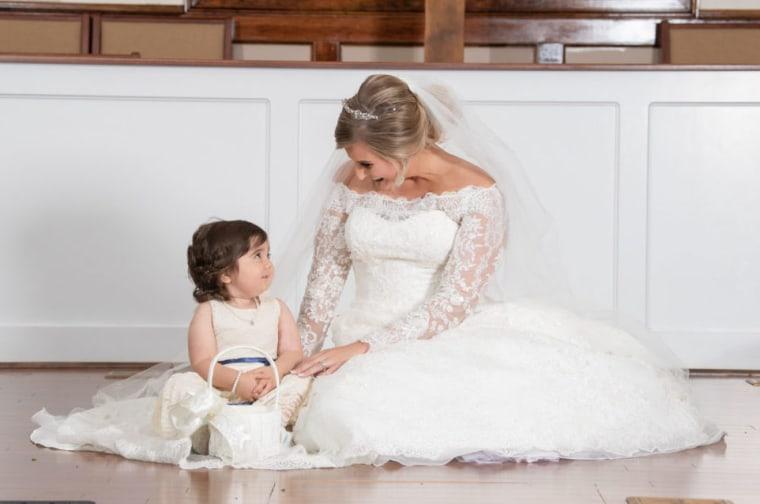 Ryals donated bone marrow to Skye Savren-McCormick in 2016. In 2018, the little girl was the flower girl in Ryals' wedding.