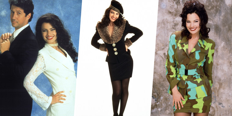 Style flashback! See what Fran Drescher thinks of her most memorable looks