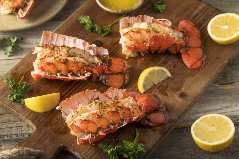 How to cook lobster tail: roasted lobster tail