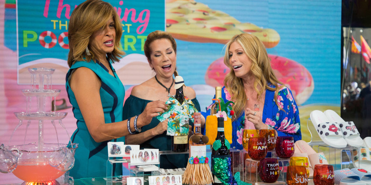 Pool Fun, Summer, Kathie Lee and Hoda, TODAY