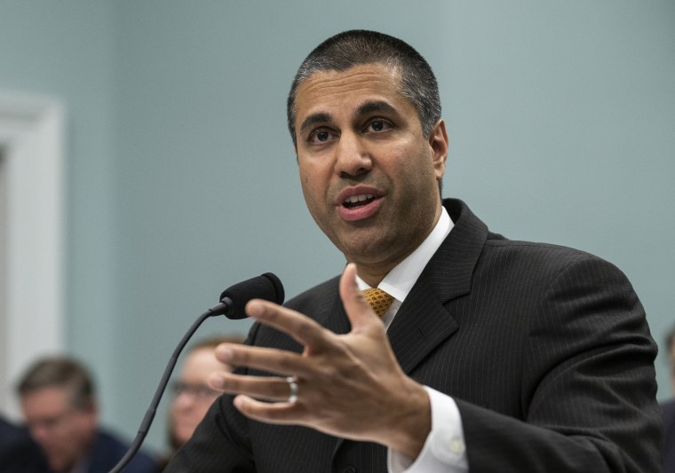 Image: FCC Chairman Ajit Pai testifies before the House Appropriations Committee