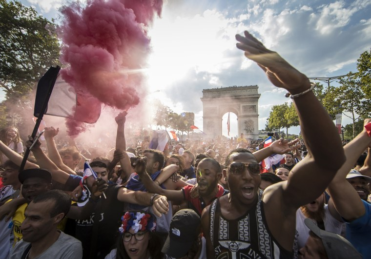 Image: France feature FIFA World Cup 2018