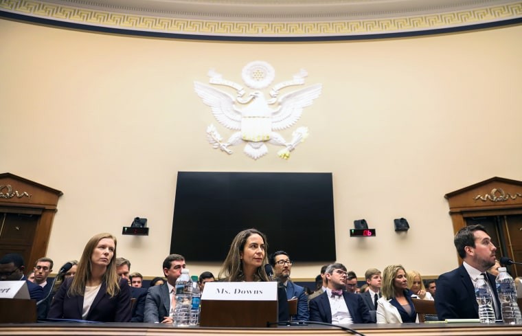 Image: Facebook, Twitter, And Google Executives Testify To House Judiciary Committee On Content Filtering Practices