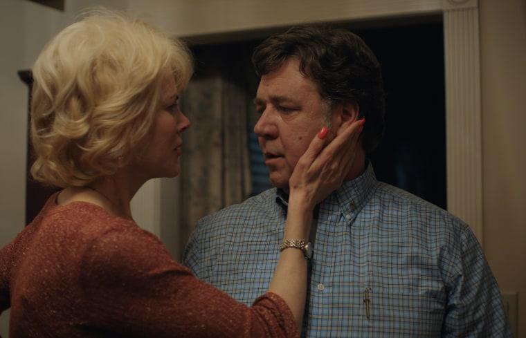 "Image: Nicole Kidman stars as ""Nancy"" and Russell Crowe stars as ""Marshall"" in Joel Edgerton's BOY ERASED."